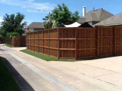 Colleyville, Southlake fence construction security ten foot tall