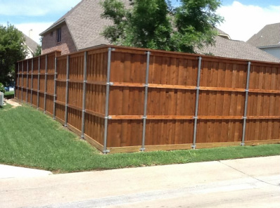 privacy fence fort worth area white settlement