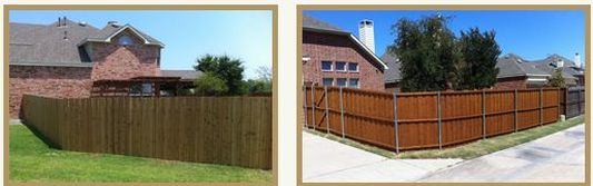 top fencing co. arlington area north south west east